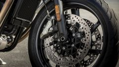 Triumph Speed Twin 2019: pinze Brembo all'anteriore