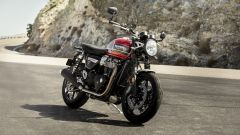 Triumph Speed Twin 2019: vista 3/4 anteriore