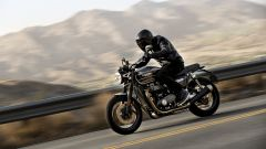 Triumph Speed Twin 2019: vista laterale