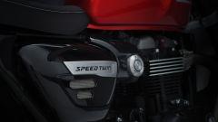 Triumph Speed Twin 2021, performance rétro. La prova video - Immagine: 27