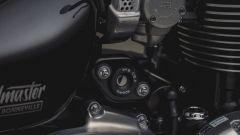 Triumph Speedmaster: dettaglio del blocchetto d'accensione