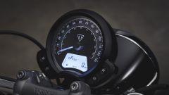 Triumph Speedmaster: dettaglio del quadro strumenti