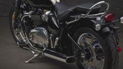 Triumph Speedmaster: dettaglio della maniglia per il passeggero