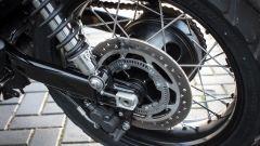 Triumph Street Scrambler, cerchio posteriore