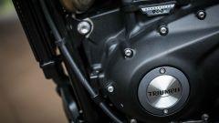 Triumph Street Scrambler, dettagli motore bicilindrico