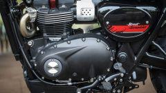 Triumph Street Scrambler, motore lato sinistro