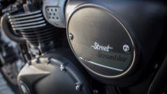 Triumph Street Scrambler, tabella portanumero