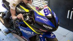 La Triumph Street Triple 765 RS fa il suo esordio nelle corse - Immagine: 2