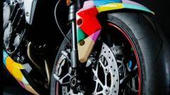 Triumph Street Triple RS: dettaglio anteriore