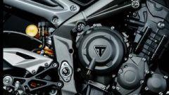 Triumph Street Triple RS: dettaglio motore