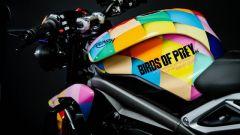 Triumph Street Triple RS: la colorazione speciale dedicata a Harley Quinn