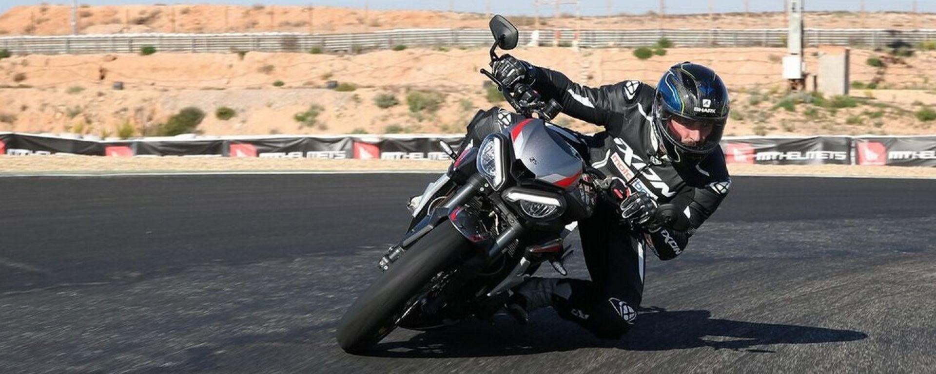 Triumph Street Triple RS: la prova di Danilo