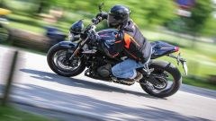 Triumph Street Triple RS: vista laterale