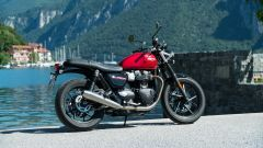 Triumph Street Twin 2019: vista laterale