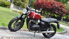 Triumph Street Twin Cranberry Red