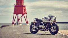 Triumph Thruxton R special by Barbour International
