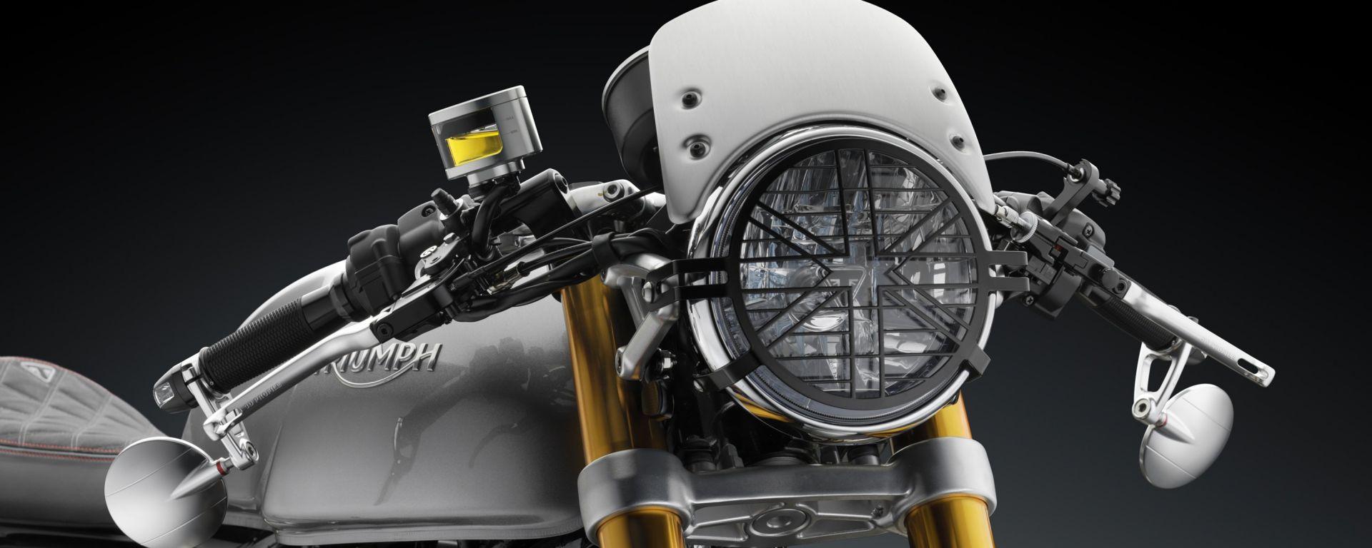 Triumph ThruxtonR by Rizoma