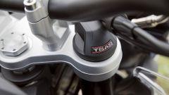 Triumph Tiger 1200 XCA: le sospensioni sono semiattive
