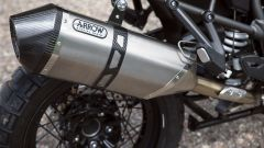 Triumph Tiger 1200 XCA: lo scarico Arrow in titanio