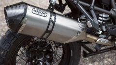 Triumph Tiger 1200 XCA: lo scarico Arrow in titanio
