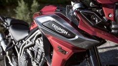 Triumph Tiger 1200 XRT: la targhetta identificativa
