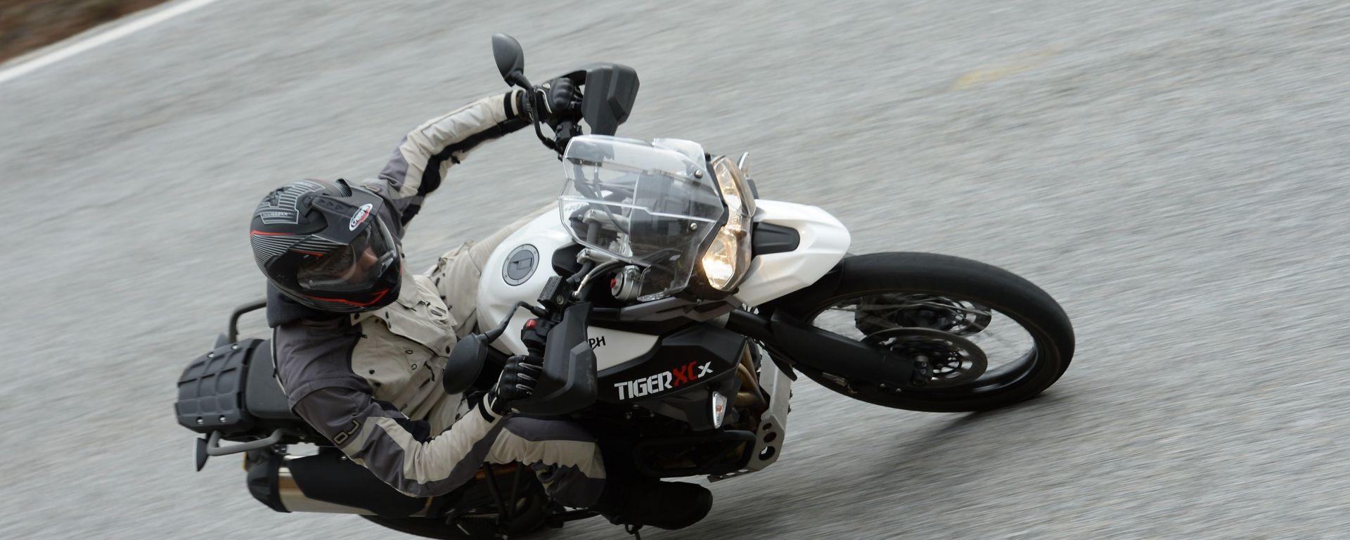 Prova Triumph Tiger 800 My2015 Motorbox