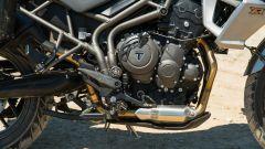 Triumph Tiger 800 XRT, il motore a tre cilindri