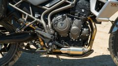 Triumph Tiger 800 XRT, il motore