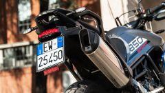 Triumph Tiger 850 Sport 2021, dettaglio del posteiore