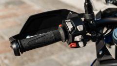 Triumph Tiger 850 Sport 2021, i pulsanti del blocchetto di sinistra