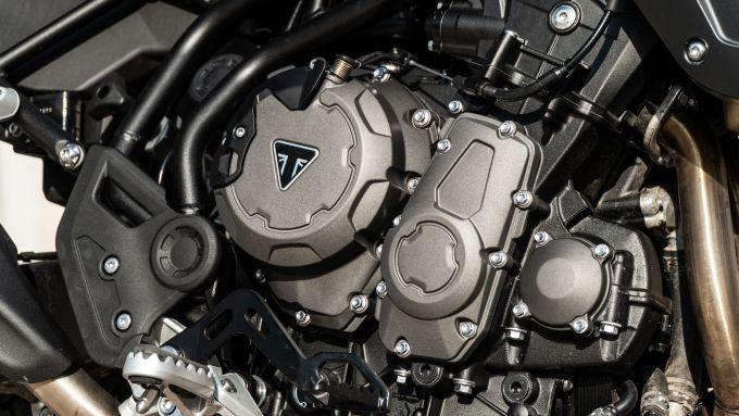 Triumph Tiger 850 Sport 2021, il motore è stato addomesticato