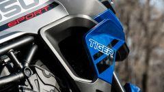 Triumph Tiger 850 Sport 2021, il problema radiatori rimane