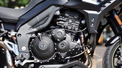 Triumph Tiger Sport 2016, motore a tre cilindri