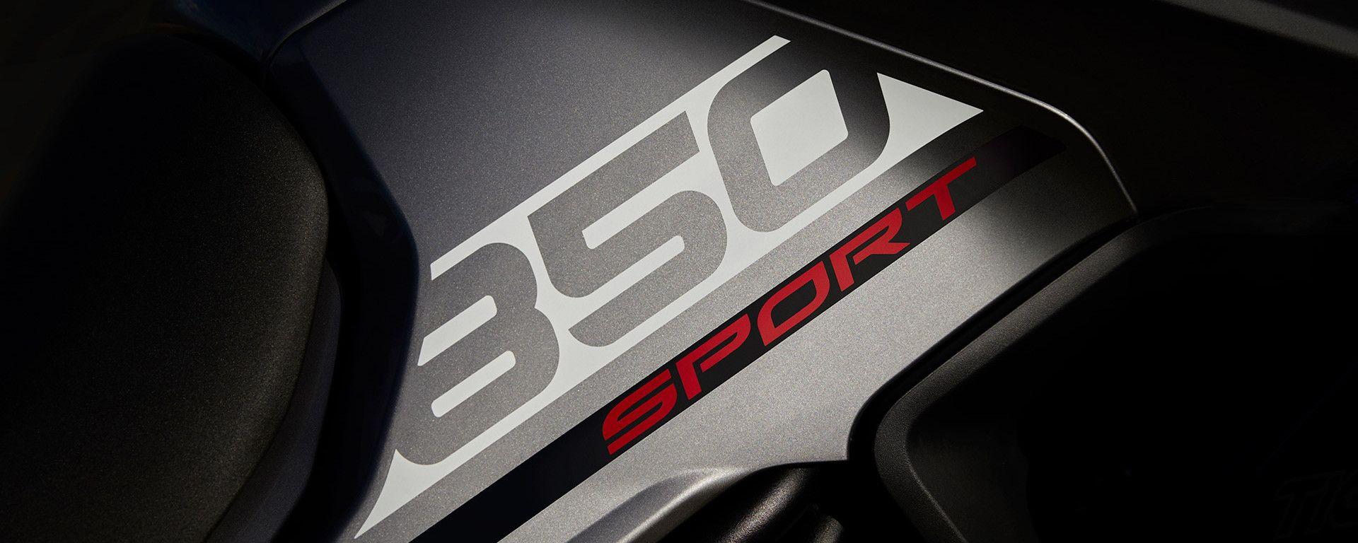 Triumph Tiger Sport 850, le foto teaser