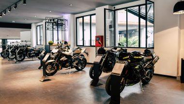 Triumph: lo store di Milano