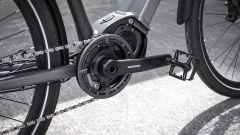Triumph Trekker GT: catena e pedali