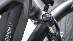 Triumph Trekker GT: particolare della sospensione