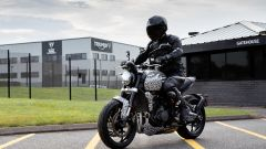 Triumph Trident: ultimi test per la naked entry level