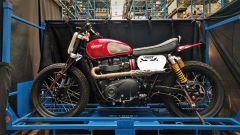 Triumph Visitor Experience: di chi sarà quella moto?