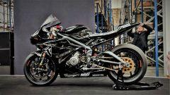 Triumph Visitor Experience: la moto usata per i collaudi del motore Moto2