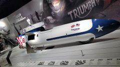 Triumph Visitor Experience: la streamliner che colse il record di velocità a Bonneville