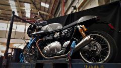 Triumph Visitor Experience: una Thruxton pronta per la consegna