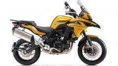 TRK 502 X 2021, la serie limitata di colore giallo