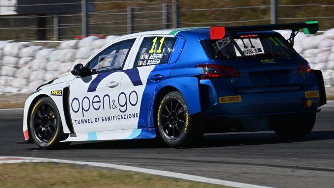 Trofeo Supercup 2020, Magione: la Peugeot 308 TCR di Arduini e Bodega | Foto: 3/4