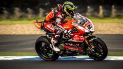 Troy Bayliss sulla Ducati 1199 (2015)