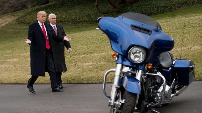 Trump e Harley Davidson