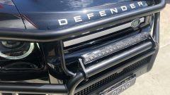 Tuning Nuova Land Rover Defender by Newdefendermods: dettaglio della bull-bar