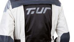 T.ur J-One: dettaglio della ventilazione sulla schiena