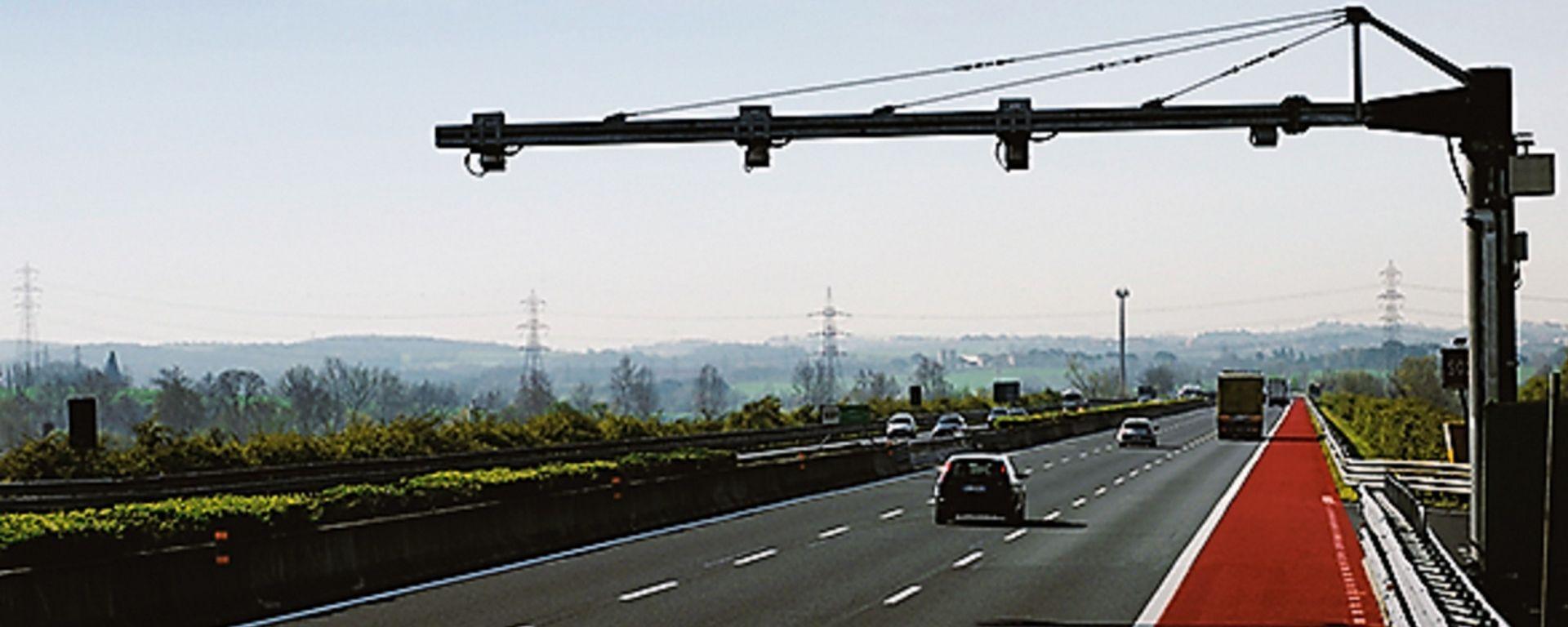 Tutor autostrada, dove sono i dispositivi attivi a Pasqua 2019