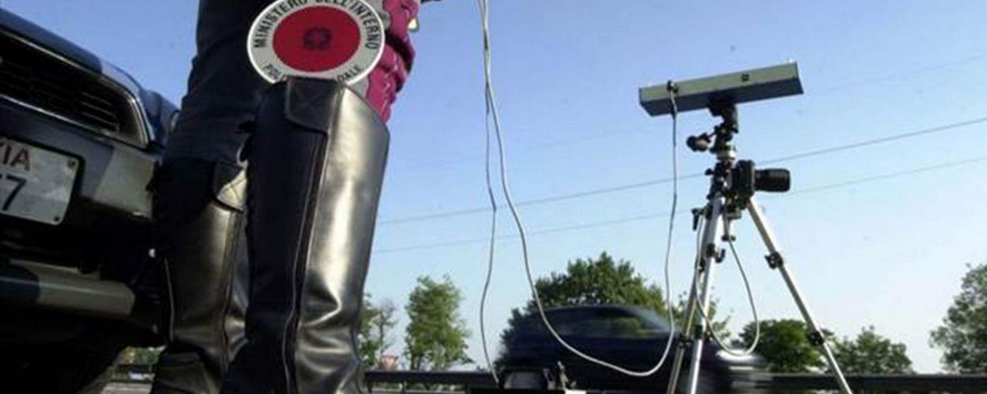 Tutor e autovelox, l'italia sul podio mondiale